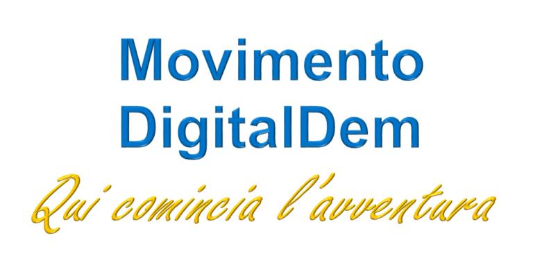 Movimento DigitalDem: qui comincia l'avventura